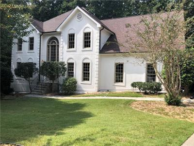 Peachtree Corners Single Family Home For Sale: 3810 Spalding Bluff Drive