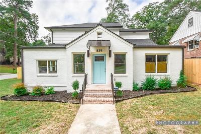 Atlanta Single Family Home For Sale: 839 Rochelle Drive