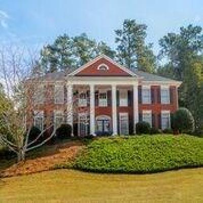 Suwanee Single Family Home For Sale: 4162 Riverview Run Court
