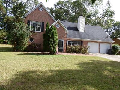 Marietta Single Family Home For Sale: 2418 Josh Court SW