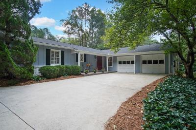 Sandy Springs Single Family Home For Sale: 4795 Longchamps Drive