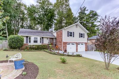 Marietta Single Family Home For Sale: 3074 Greenwood Trail SE