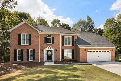 Peachtree City Single Family Home For Sale: 203 Crescent Oak