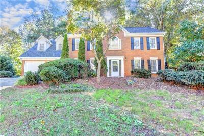 Acworth Single Family Home For Sale: 5663 Brookstone Drive NW
