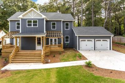 Atlanta Single Family Home For Sale: 1615 Van Vleck Avenue SE