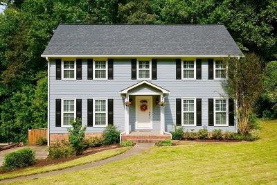 Marietta Single Family Home For Sale: 345 Millbrook Trace
