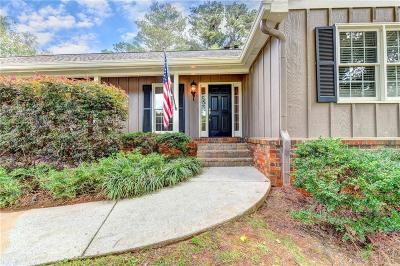 Roswell Single Family Home For Sale: 105 Northgate Court
