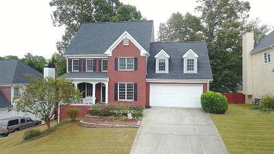 Grayson Single Family Home For Sale: 2545 Potomac View Court