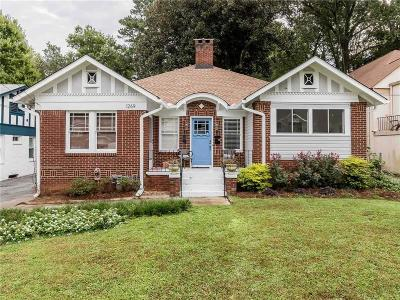 Single Family Home For Sale: 1269 N Highland Avenue NE