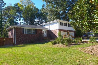 Atlanta Single Family Home For Sale: 3946 Evans Road