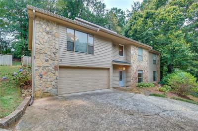 Marietta GA Single Family Home For Sale: $342,000