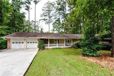 Atlanta Single Family Home For Sale: 2172 Shasta Way NE
