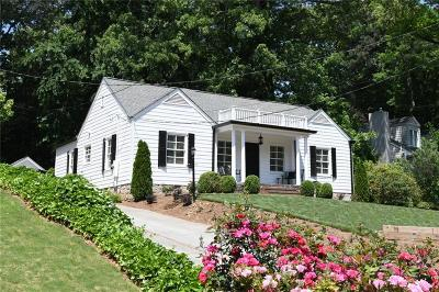 Atlanta Single Family Home For Sale: 4006 N Stratford Road NE