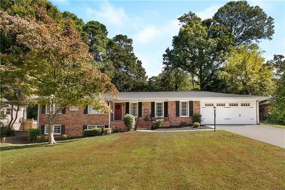 Decatur Single Family Home For Sale: 1671 Colebrook Circle