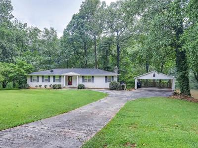 Cobb County Single Family Home For Sale: 756 Kurtz Road