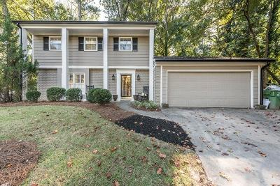 Atlanta Single Family Home For Sale: 2528 Fernleaf Court NW