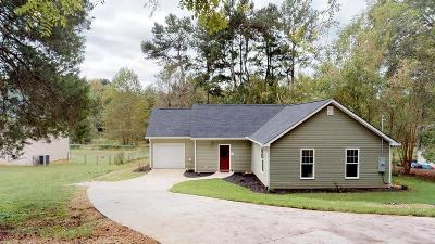 Cartersville Single Family Home For Sale: 12 Two Run Creek Road NW