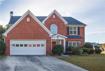 Suwanee Single Family Home For Sale: 76 Morning Top Court