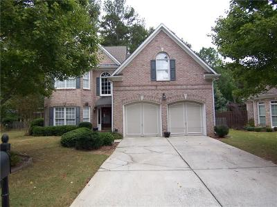 Marietta Single Family Home For Sale: 3973 Chatooga Trail