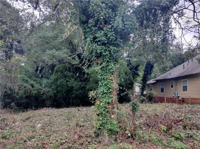 Atlanta Residential Lots & Land For Sale: 402 Holderness Street SW