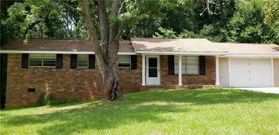 Douglasville Single Family Home For Sale: 5936 N Bear Drive