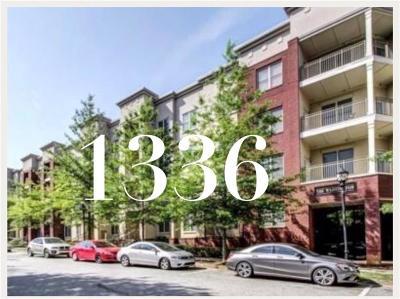 Atlanta Condo/Townhouse For Sale: 870 Mayson Turner Road NW #1336
