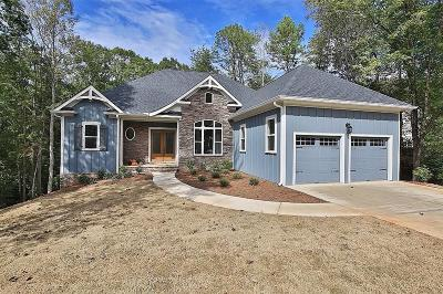 Dahlonega Single Family Home For Sale: 656 Prospector Trail