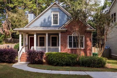 East Atlanta Single Family Home For Sale: 1678 Cecile Avenue SE