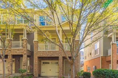 Atlanta Condo/Townhouse For Sale: 839 Stratum Way SE