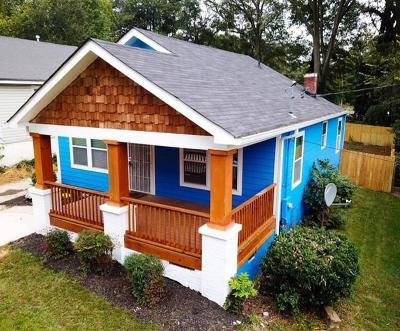 Atlanta Single Family Home For Sale: 1274 Epworth Street SW