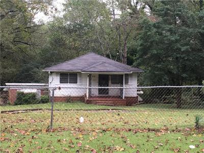 Atlanta GA Single Family Home For Sale: $72,900