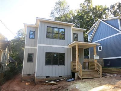 East Atlanta Single Family Home For Sale: 1960 Nash Avenue