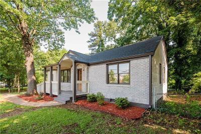 Atlanta Single Family Home For Sale: 2972 Memorial Drive