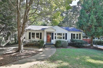 Atlanta Single Family Home For Sale: 1099 Ralph Road NE