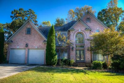Suwanee Single Family Home For Sale: 3887 Hickory Manor Drive