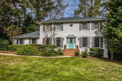 Dunwoody Single Family Home For Sale: 5207 Lakesprings Drive