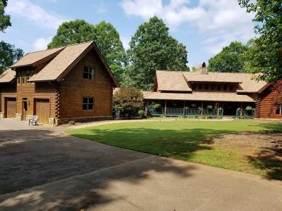 Cherokee County Single Family Home For Sale: 555 A J Land Road