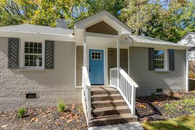 Decatur Single Family Home For Sale: 1237 Thomas Drive