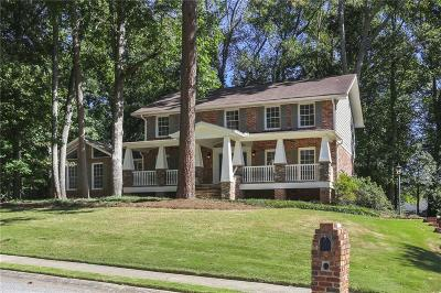 Dunwoody Single Family Home For Sale: 1858 Trumbull Drive