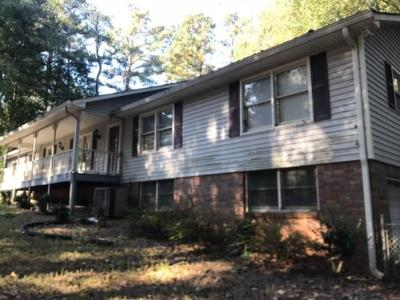 Kennesaw Single Family Home For Sale: 2105 Kennesaw Due West Road NW