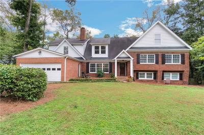 Buckhead Single Family Home For Sale: 1350 Battleview Drive NW