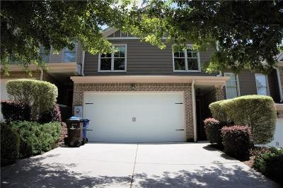 Alpharetta Condo/Townhouse For Sale: 180 Woodhaven Way