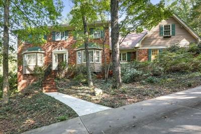 Sandy Springs Single Family Home For Sale: 7985 Saddle Ridge Drive