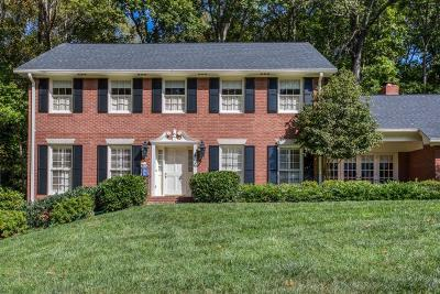 Sandy Springs Single Family Home For Sale: 7665 Ryefield Drive