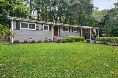Brookhaven Single Family Home For Sale: 2271 Drew Valley Road NE