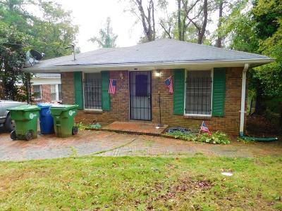 Atlanta Single Family Home For Sale: 2176 Belvedere Avenue SW