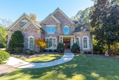 Milton  Single Family Home For Sale: 605 Shade Lake Court