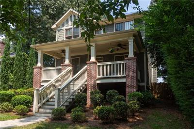 Single Family Home For Sale: 459 Deering Road NW
