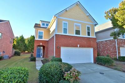 Alpharetta Condo/Townhouse For Sale: 13883 Portside Cove