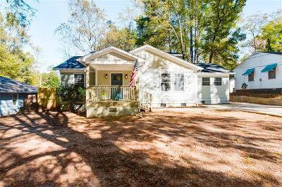 East Atlanta Single Family Home For Sale: 1094 Greenleaf Road SE
